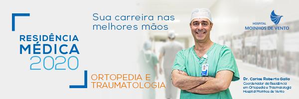 Residência Ortopedia e Traumatologia 2020